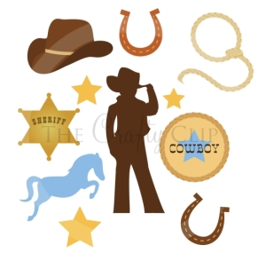 Giddy Up Clip Art Set
