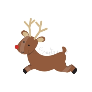Cute Christmas Reindeer Clipart Images & Pictures - Becuo